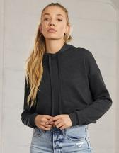 Women´s Cropped Fleece Hoodie