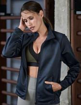 Womens Performance Zip Sweat