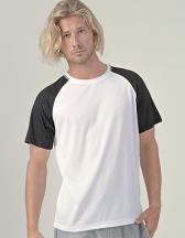 Men´s Sport T-Shirt Contrast