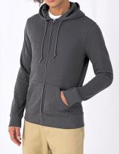 Organic Zipped Hood Jacket