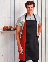 Colours Collection Contrast Bib Apron