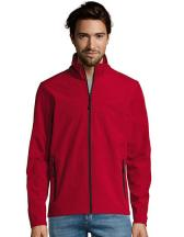 Men`s Softshell Zip Jacket Race