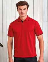 Men`s Contrast Coolchecker Polo