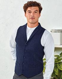 Mens Herringbone Waistcoat