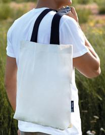 Twill Bag with Contrast Handles