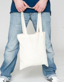 Cotton bag, long handles, PREMIUM
