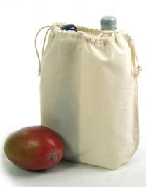 Cotton bag with separation /shoe-bag